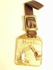 Warner & Wasey HOPTO equipment advertising watch fob and strap