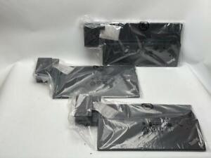 Lot of 3 Lenovo Thinkpad Ultra Dock Type 40A2 (90W) - NO POWER SUPPLY