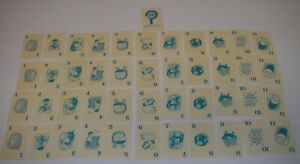 Vintage Snoop Marked Card Game 1965 by Ideal Toy Replacement Cards