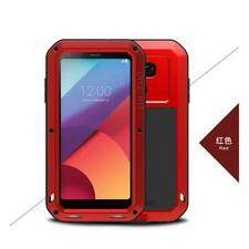 Heavy Duty Shockproof 360 Metal Case Cover with Screen Protector For LG Phones
