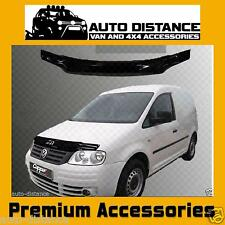 Bonnet Protector Bug Guard Solid Black Acrylic 2004-2009 FOR VW Caddy
