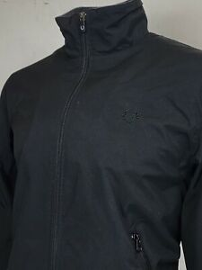 Fred Perry   Mesh Lined Nylon Sailing Jacket M (Black) Mod Scooter Terraces 60s