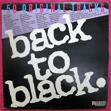 Back To Black- Aussie Double LP compilation- Regent Records & Tapes 1987- RR 508