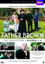 FATHER BROWN : COMPLETE SEASON 1 2 3 4   -  DVD - PAL Region 2 - New