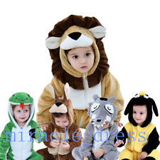 Baby Toddler Lion, wolf, shark, Fancy Dress Jumpsuit Xmas Party Costume Outfit