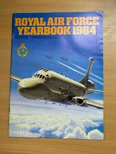 "1984 ""ROYAL AIR FORCE YEARBOOK 1984"" LARGE ILLUSTRATED PAPERBACK MAGAZINE BOOK"