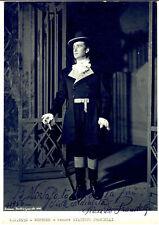 1956 BRESCIA Teatro Grande - Tenore Giacinto PRANDELLI *Foto con autografo 18x24