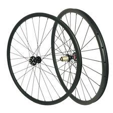 Hookless 29er MTB carbon wheel 40mm clincher 28mm Wide Tubeless Asymmetric Rims