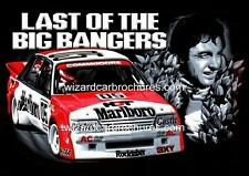 1984 PETER BROCK VK COMMODORE BATHURST BIG BANGER A3 POSTER AD ADVERT BROCHURE