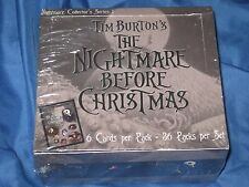 NIGHTMARE BEFORE CHRISTMAS 36 Pack SEALED Movie Card Box by NECA ~SUPER RARE!!!