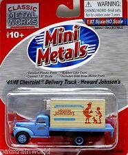 Classic Metal Works Ho/Hon3 1941/46 Chevy Truck Howard Johnson (30364)
