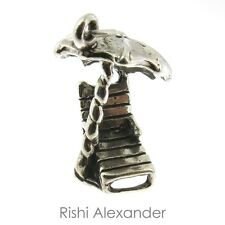 925 Sterling Silver Beach Chair and Umbrella Charm Made in USA