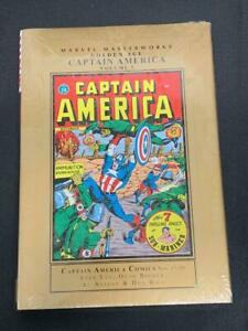 Golden Age CAPTAIN AMERICA Vol 5 Marvel Masterworks HC Hard Cover SEALED (CC2)