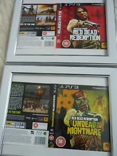 Red DEAD REDEMPTION UNDEAD NIGHTMARE REDENZIONE ps3 Maniche parete incorniciato