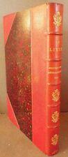 Octave UZANNE - Le LIVRE Bibliographie rétrospective 8e année 1887 1/2 maroquin