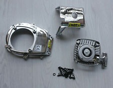 Chrome Engine Cover, Flywheel cover and Pull Starter for HPI Rovan KM Baja 5B 5T