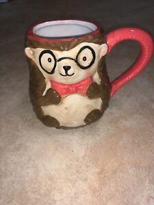 Hedgehog W/Glasses 18oz Mug