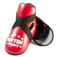 Top Ten Fight Kick Protectors Red Foot Guards Pads Kickboxing Taekwondo Foot Pad