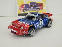 Slot Car Scx Scalextric Altaya Porche 911 Carrera #8 Esso Effet Neige