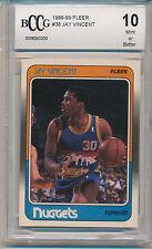 1988 Fleer Basketball Jay Vincent (#38) BCCG10 BCCG