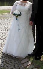 Brautkleid von Lohrengel meet MoonS. Größe 50. Farbe Ivory.A-Linie.1Mal getragen