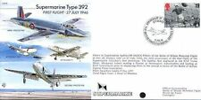 EJA 4 MOTORE Supermarine Type 392 aggressore RAF volati COVER