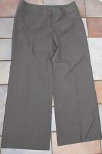J.Jill pants petites 10P stretch -grayish brown-flat front EUC