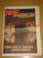NME 1983 DEC 10 COCTEAU TWINS FLYING PICKETS AMAZULU