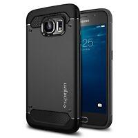 Spigen Galaxy S6 Case Capsule Ultra Rugged Black (PET)