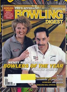 Bowlings Digest PBA Bowlers Of The Year Parker Bohn 3, Wendy Macpherson Cover