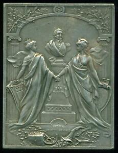 SAN MARTÍN AMERICAN INDEPENDENCE HERO BOULOGNE SUR MER MON. 1909 FRENCH MEDAL