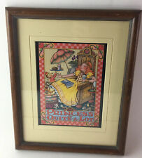 Mary Engelbreit The Princess Of Quite A Lot Framed Print Gently Used