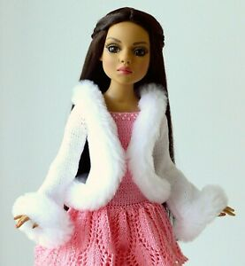 """Handmade knit outfit for Tonner Doll  Ellowyne Wilde Body 16"""""""