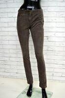 Pantalone TOMMY HIILFILGER Donna Woman Jeans Taglia 4 (38) Slim Costine Elastico