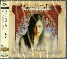 VANESSA CARLTON-BE NOT NOBODY-JAPAN SHM-CD D50