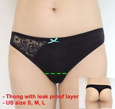 Set Lace Women's Sexy Menstrual Period Panties Leakproof Thongs Tangas Bikinis