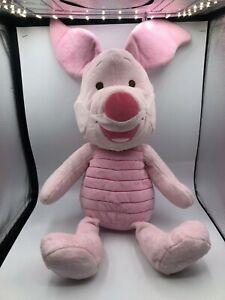 Large Winnie The Pooh Piglet Pig Playgro Disney Plush Kids Stuffed Toy Animal