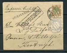 NETHERLANDS 1930 Express envelope to Kootwijkebroek franked 22c Wilhelmina....