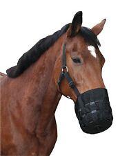 Pferdemaulkorb Nylon Maulkorb Fressbremse für Pony 321625