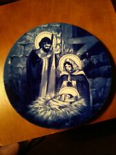 "Avon 1991 ""The Holy Family"" 8"" Collector Plate Good Condition"