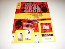 BREEDERS / KELLEY DEAL 6000 !!!!!!RARE FRENCH PRESS/KIT