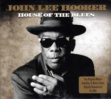 JOHN LEE HOOKER - HOUSE OF THE BLUES - TWO ORIGINAL ALBUMS  (NEW SEALED 2CD)