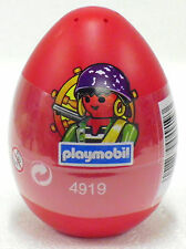 RED EASTER EGG WITH PIRATE Playmobil 4919 v`07 for Ship Guard NEW ORIGINAL BOX