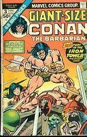 GIANT-SIZE CONAN THE BARBARIAN #3 (1975) Marvel Comics FINE
