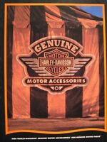 1996 Harley Davidson GENUINE Parts & Accessories Accessory Catalog Brochure