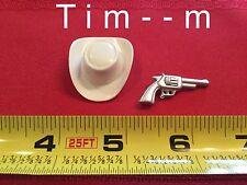 Custom Hat & Pistol for the Hartland Dale Evans Figure 800 series
