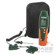NEW Extech MO220 Wood and Log Moisture Meter + Accessories and Case / Genuine UK