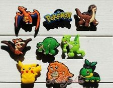 9 x Pokemon® / Land Before Time® 3cm Shoe Bracelet Charms Party Favours Gift