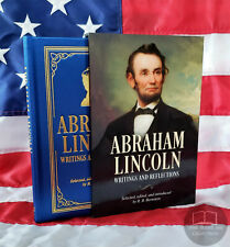 NEW Abraham Lincoln Writings & Reflections Slipcase Illustrated Hardcover Silk