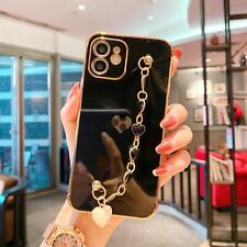 Girly Heart Bracelet Phone Case For iPhone 11 12 Pro Xs 8 7 Se Shockproof Cover